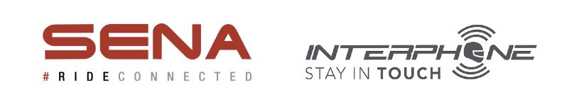 Logos von Sena und Interphone