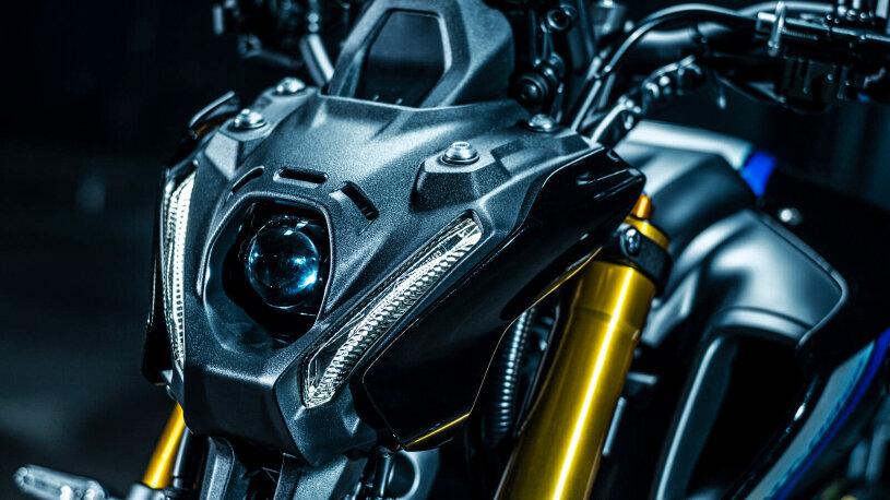 Die Front der Yamaha MT-09 SP
