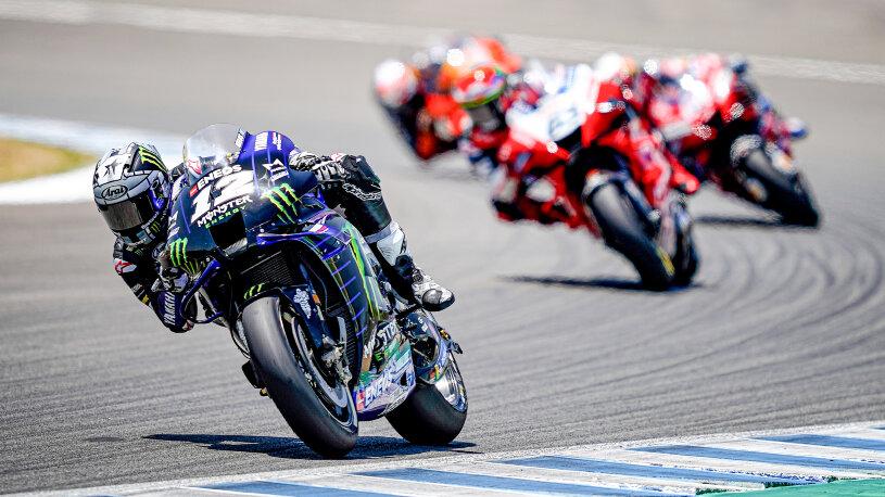 MotoGP Valencia Yamaha 2021