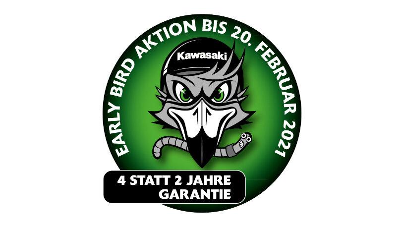 Kawasaki Early-Bird-Aktion Garantieverlängerung