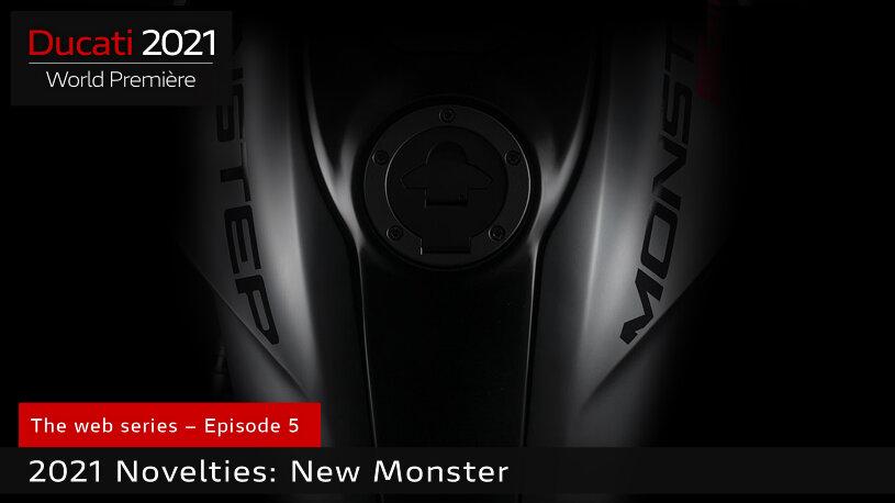 Ducati präsentiert die neue Monster Modelljahr 2021