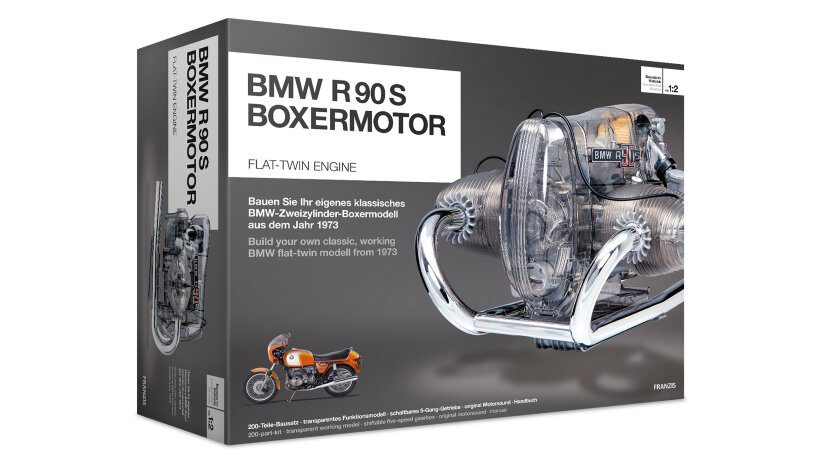 BMW R 90 S Boxermotor transparentes Funktionsmodell