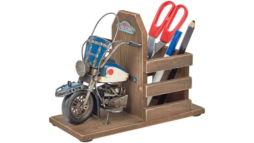 Motorrad Stiftehalter
