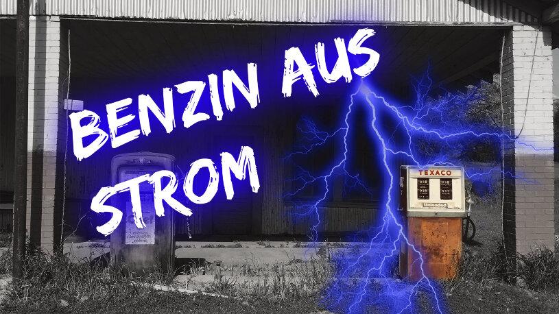 Eine deutsche Firma stellt aus Strom synthetisches Benzin her.