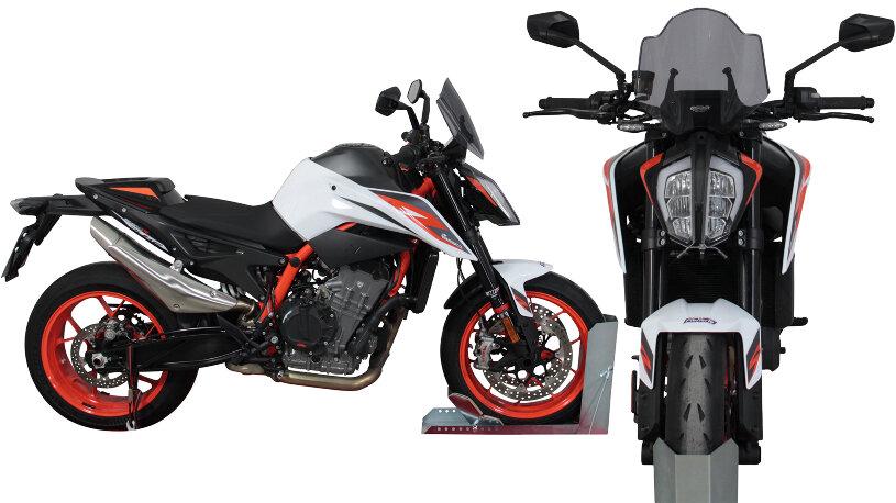 KTM Duke 890 R 2019-: Sportscheibe (NSPM)