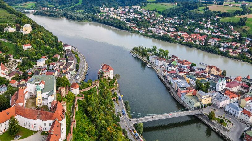 Motorradtour Bayerischer Wald Passau