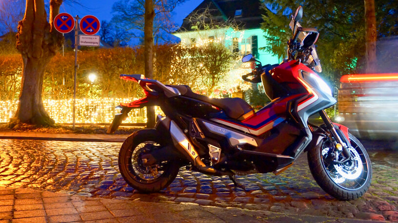 Winter-Fahrtest: HONDA X-ADV