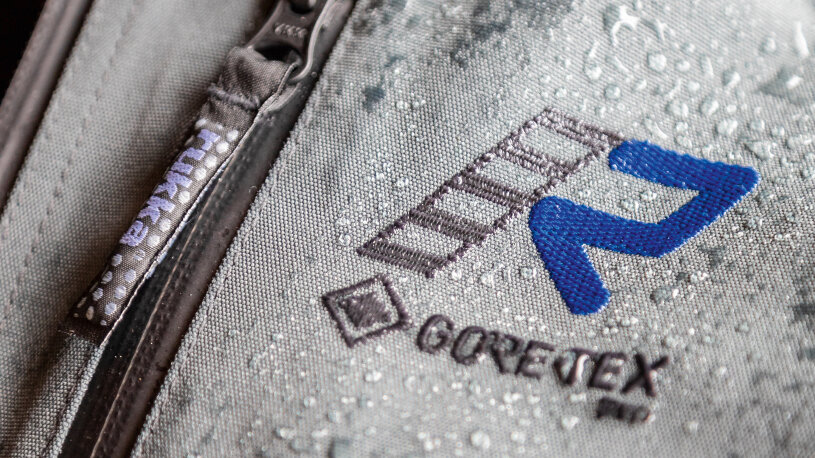 Rukka Exegal Jacke mit elastische Gore-Tex-Wasserschleusen
