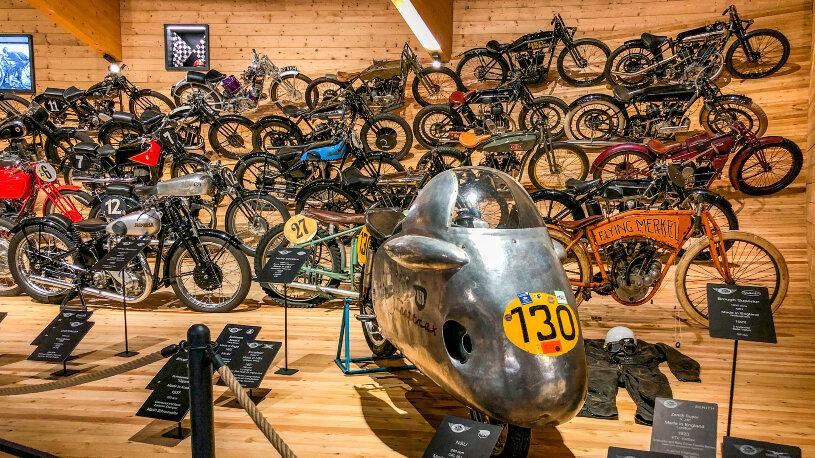 Top Mountain Motorcycle Museum abgebrannt