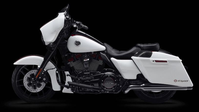 Harley-Davidson CVO Street Glide 2021 - Great White Pearl