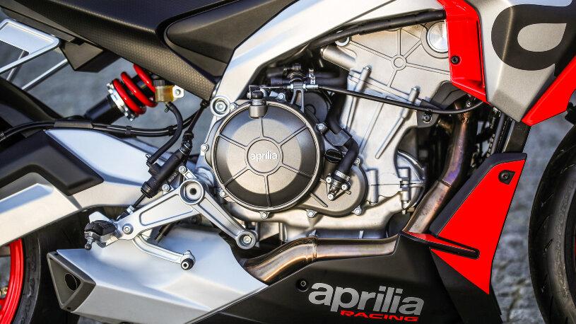 Motor der Aprilia Tuono 660
