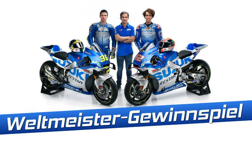 Suzuki Weltmeister Gewinnspiel