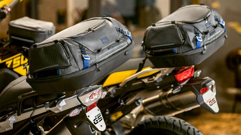 BMW Hecktaschen Black Collection Motorrad