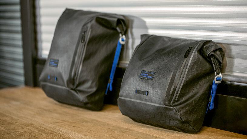 BMW Seitentaschen Black Collection