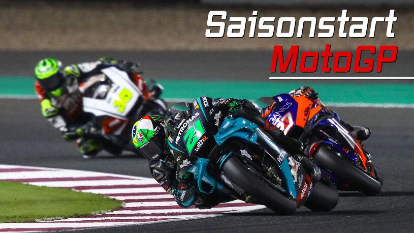 MotoGP Saisonstart 2021 in Qatar