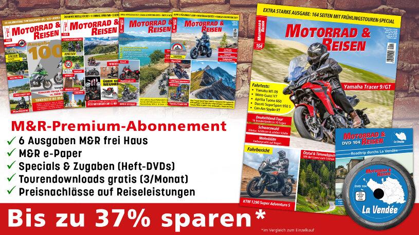 Jetzt abonnieren: Motorrad & Reisen