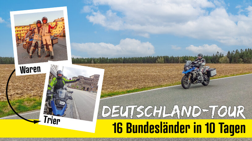 Motorrad und Reisen Ausgabe 104: Vorschau Deutschland-Tour