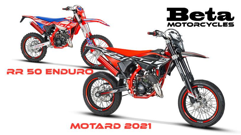 Beta Motorcycles RR 50 Enduro und Motard 2021