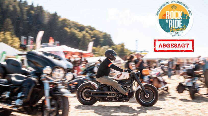 Abgesagt: Harley-Davidson 29. European H.O.G. Rally in Portorož