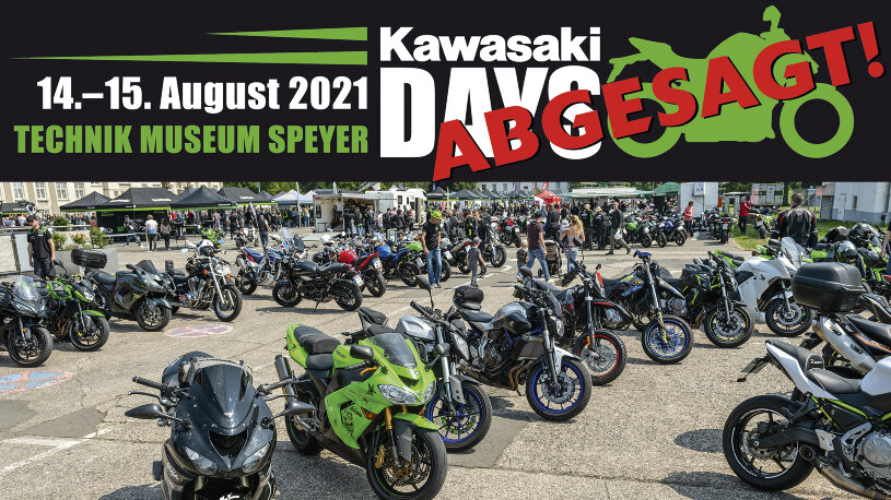 Kawasaki Days Speyer Technik Museum 2021 abgesagt