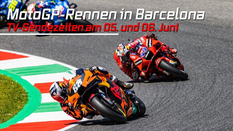 MotoGP Barelona 5. und 6. Juni 2021