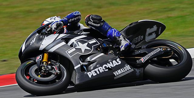 Moto GP testet in Sepang