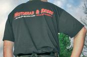 Saisonabverkauf M&R Coolshirts - 40 Prozent reduziert